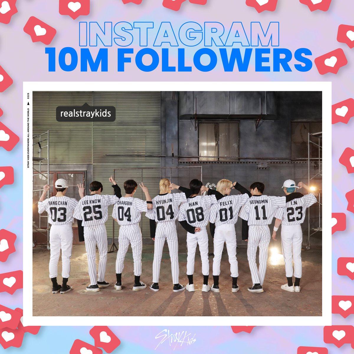 Stray Kids(스트레이 키즈) Official Instagram ⭐10M FOLLOWERS⭐  앞으로도 함께해요, STAY❣ Stay with us, STAY❣    #StrayKids #스트레이키즈 #YouMakeStrayKidsStay #RealStrayKids10M