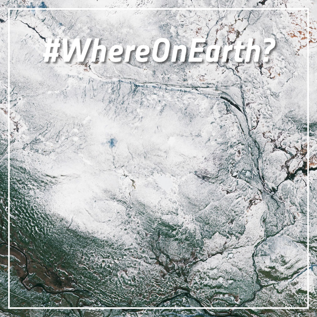 #WhereOnEarth is this?   If you know the answer, post it here in the comment section for a shout-out and the glory🏆  First hint: it's a location linked to the @CopernicusEU #Sentinel6 mission