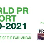 Image for the Tweet beginning: The World PR Report is