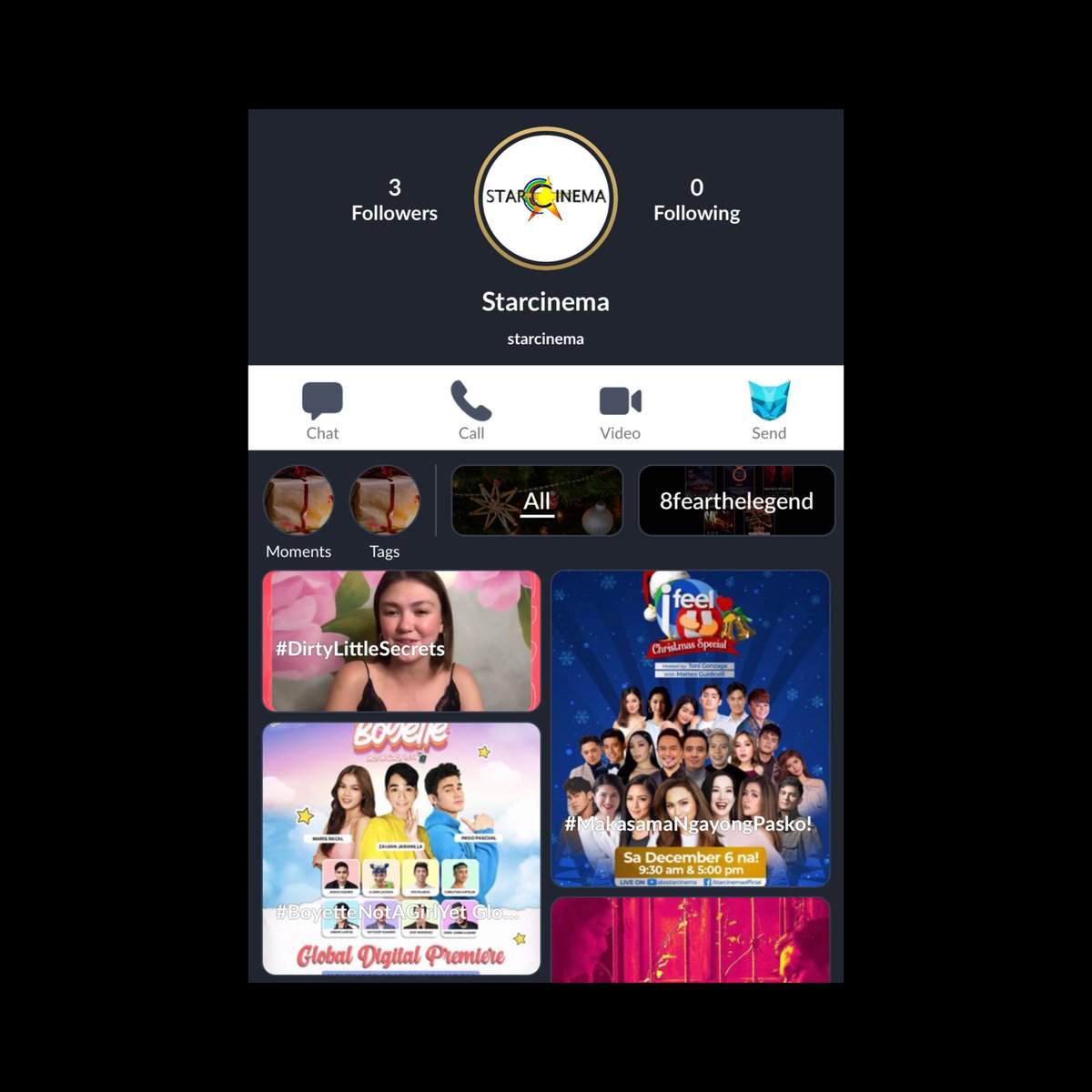 Flex ko lang! Star Cinema is now on LYKA! 💎 Follow niyo na guys for updates on our movies. 💫 #StarCinemaOnLYKA #LYKAmovies