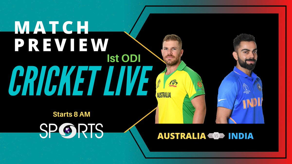 Watch our special show #CricketLive where sports experts give you match analysis and preview before Ist ODI   🗓️ November 27 ⏰ 8 AM  Link:   #AUSvIND