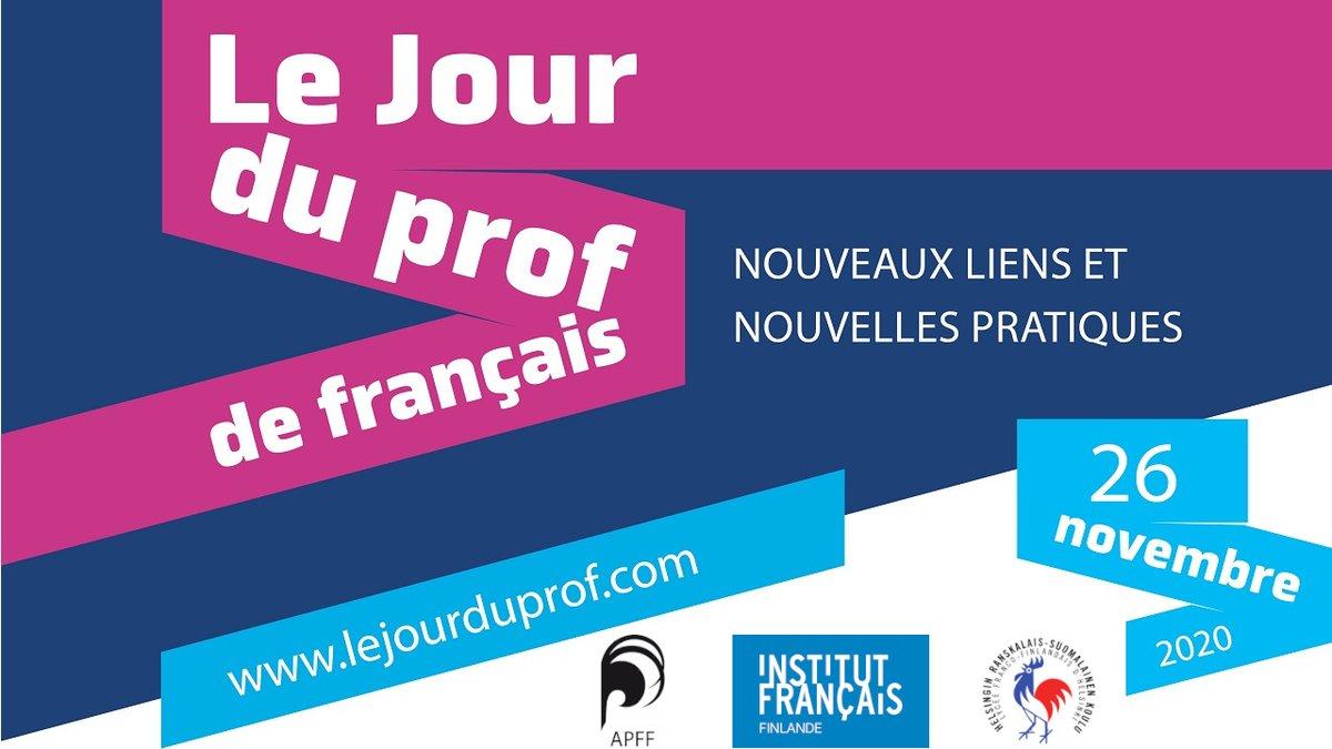 C'est le jour du prof de français!