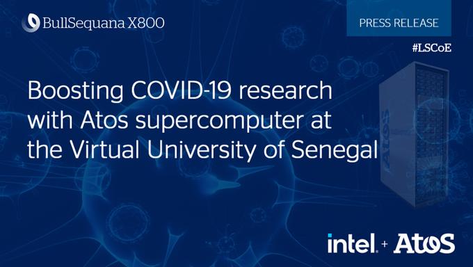 🇸🇳 Senegal's UVS [@UVS_Senegal] uses @Atos' #BullSequana Intel-based supercomputer to ev...