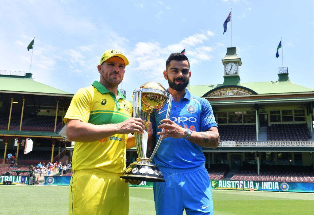 A BIG day of international cricket coming your way tomorrow!  🏏 #SAvENG first T20I 🕰️ 18.00 local time 🏏 #NZvWI first T20I 🕰️ 19.00 local time 🏏 #AUSvIND first ODI 🕰️ 14.40 local time  Who will be Player of the Match in each game? 🤩 @BCCI