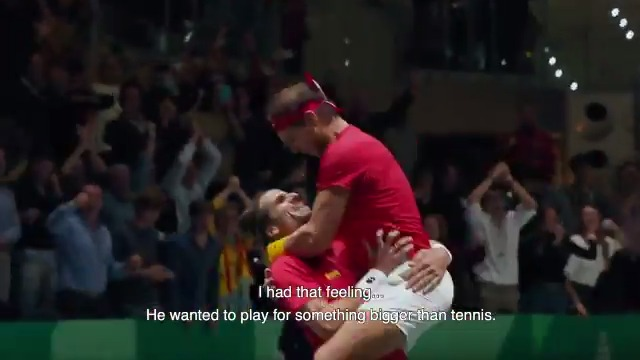 """🎬 """"Break Point: a Davis Cup Story""""  💥 NOW available for free and exclusively on @RakutenTV   Watch it HERE 👉"""