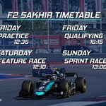 Image for the Tweet beginning: After two months away, @FIA_F2