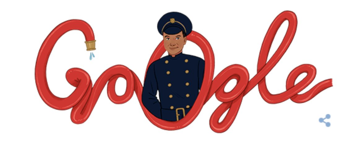 We're proud to see #London's first post-war black firefighter Frank Bailey honoured with his own Google Doodle to mark his 95th birthday. We echo Google who said his 'actions continue to encourage others to never give up in the fight for equality for all'.