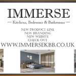 New website launching over at @ImmerseBathroom watch this space for all kitchen, bedroom and bathroom products! 🔥🔥🔥 #kitchendesign #bathrooms #interiordesign