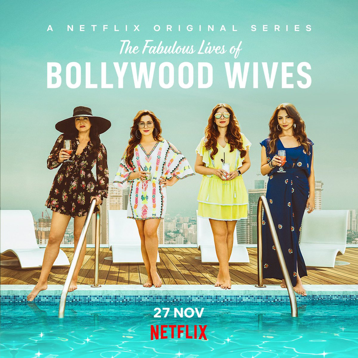 Make way for these four ladies and make room for some fabulous entertainment! #FabulousLives premieres tomorrow on #Netflix.  @maheepkapoor @neelamkothari @seemakkhan @BhavanaPandey @NetflixIndia @apoorvamehta18 @aneeshabaig @scrappypants #UttamDomale