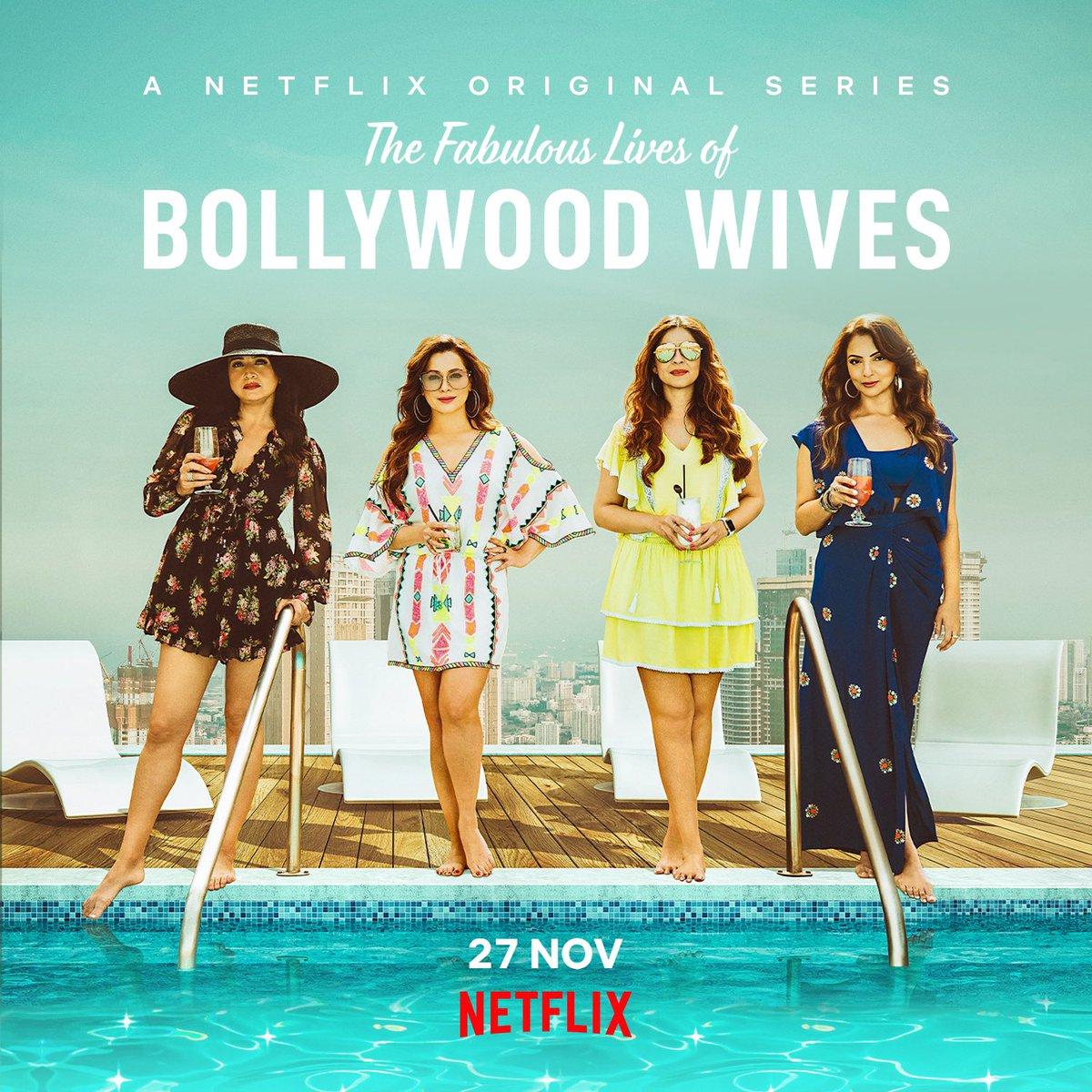 Make way for these four ladies and make room for some fabulous entertainment! #FabulousLives premieres tomorrow on #Netflix.  @maheepkapoor @neelamkothari @seemakkhan @BhavanaPandey @NetflixIndia @apoorvamehta18 @aneeshabaig @scrappypants #UttamDomale