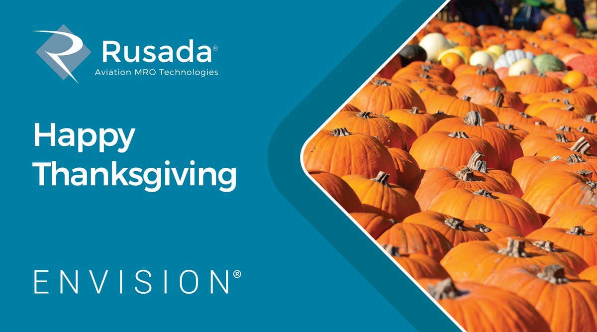Happy Thanksgiving to all our customers and colleagues in the U.S., we hope you have a great day!🦃 #Thanksgiving2020