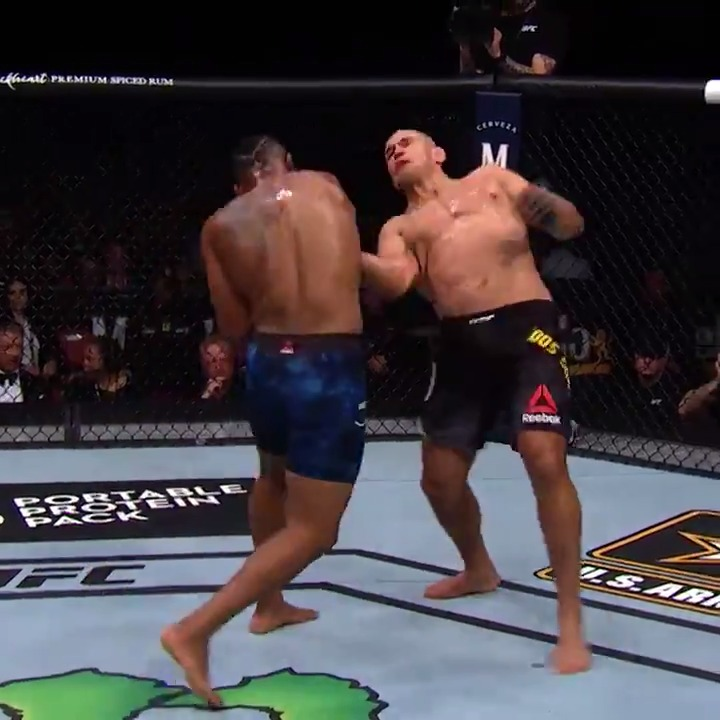 Bringing down a former champ!  @RazorBlaydes265 taking that power into #UFCVegas15 this Saturday! https://t.co/gL53hmEaZZ
