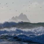 Image for the Tweet beginning: Spectacular waves St Finans Bay