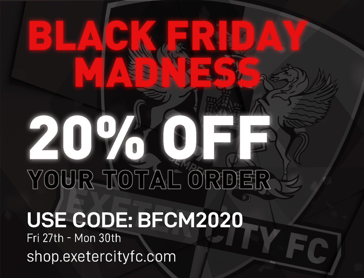 💥 | It's that time of the year! Tomorrow, BLACK FRIDAY MADNESS STARTS...  #ECFC #OneGrecianBargain https://t.co/aTTQW08jJo
