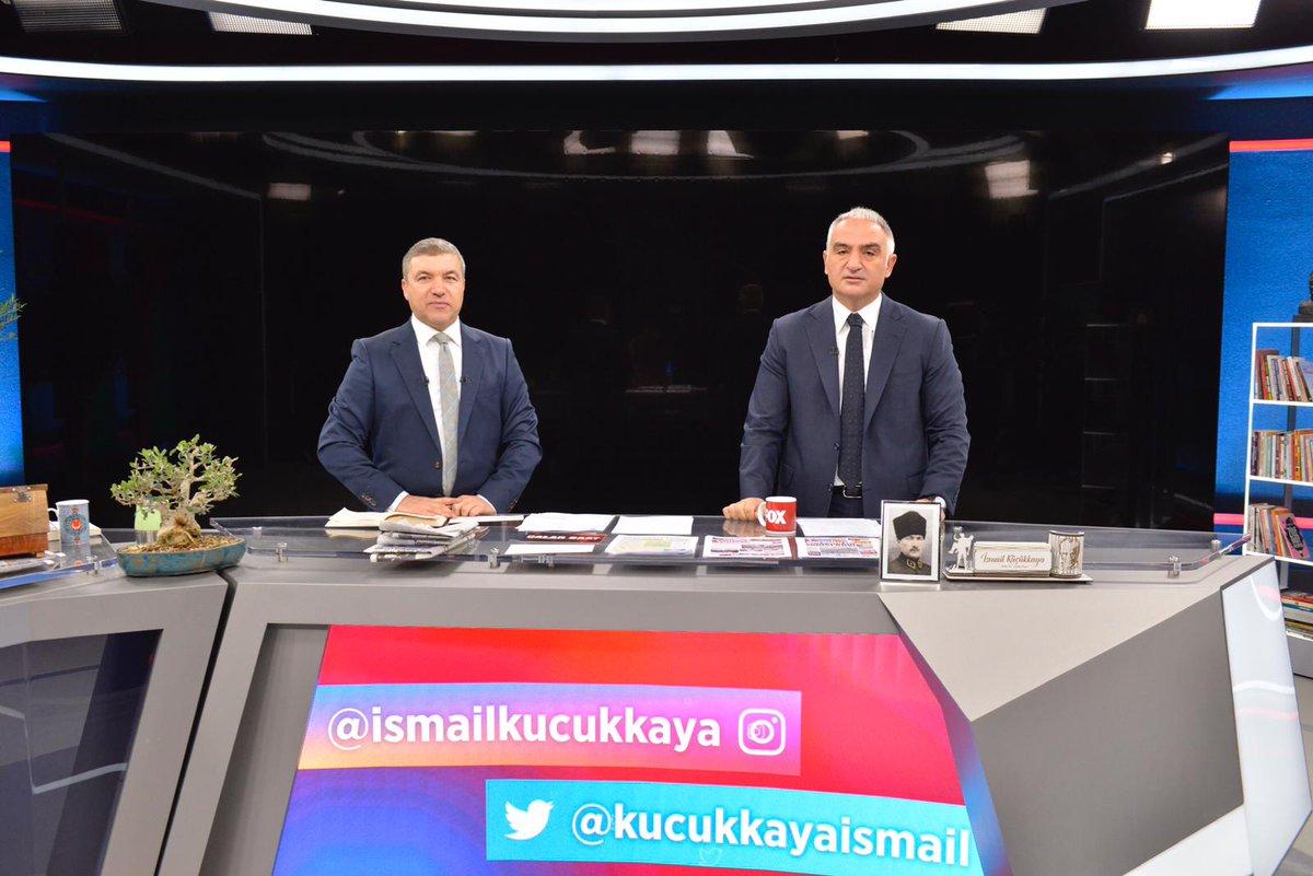 Bakanımız @MehmetNuriErsoy @FOXhaber'de @KucukkayaIsmail'in canlı yayın konuğu oldu.  Ayrıntısı👉