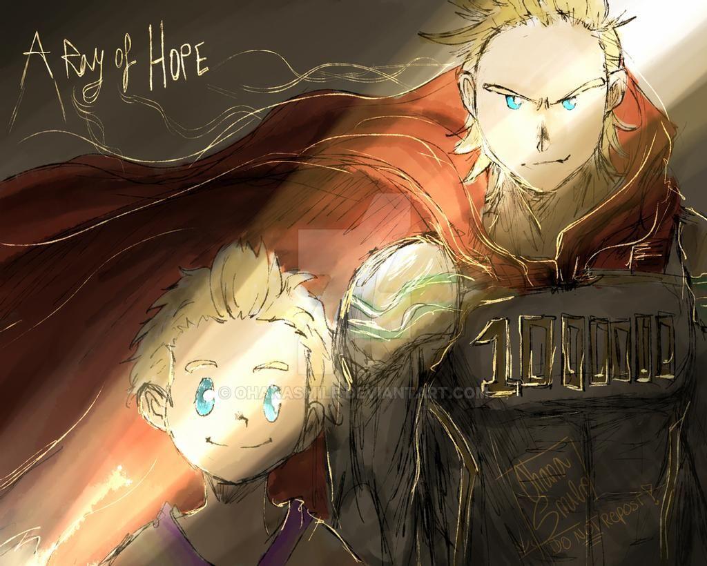 « A ray of HOPE »  [DO NOT REPOST!]  #bnhaspoilers #bnha #Mirio #BNHA292 #MHA292
