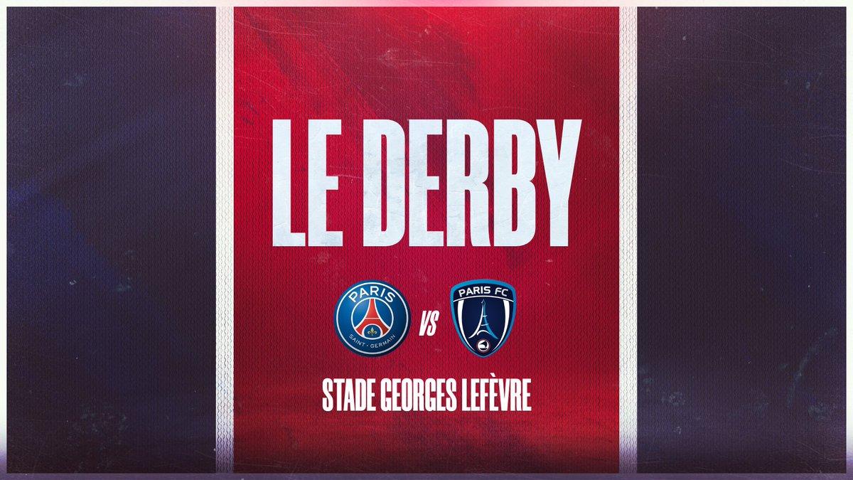 🔜 Le prochain rendez-vous 👊  Un derby 🆚 le @PFC_feminines au stade Georges Lefèvre 🏡 🗓 Dimanche 6 décembre ⌚ 15h 🏆 @D1Arkema