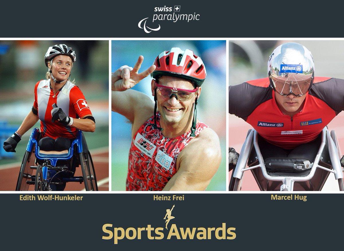 Drei Rollstuhlsport-Legenden sind für die #sportsawards - die besten aus 70 Jahren - nominiert. 👏🏻😃 Live-Sendung am 13. Dezember. @srfsport @SRF https://t.co/bADwt2O5aG