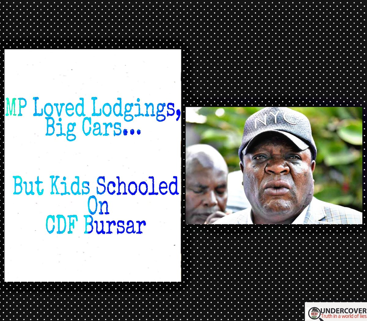 Justus Murunga: MP Loved Lodgings, Big Cars… But Kids Schooled On CDF  He preferred sleeping in lodgings, didn't care much about dressing, but had no qualms exchanging Land Cruisers thrice in a year...https://t.co/KEbbLy7Zk8 https://t.co/bk819cx9B9