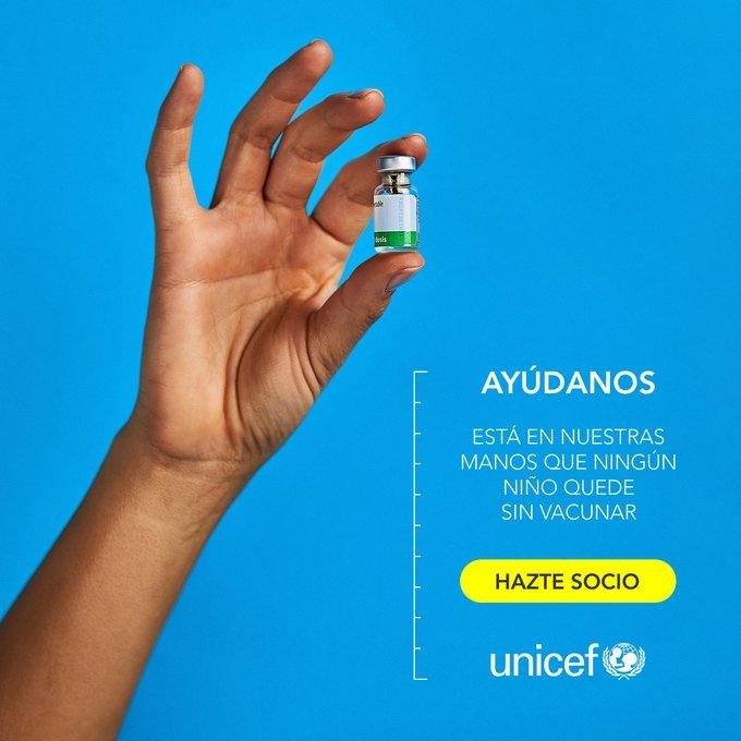 Un año más, nuestros amigos de la @UEMC están apoyando los esfuerzos de @unicef_es, esta vez para  para vacunar a millones de niños y niñas en todo el mundo. ¿Y, tu, nos ayudas?! ¡Las vacunas son #PequeñasSoluciones que salvan miles de vidas cada año!