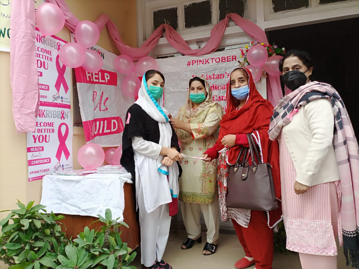 Youth Breast Awareness Campaign among youth at @GCWKKS    @AmrijCosmetics  #PinkRibbon #Pinktober #BecomeABetterYou #PinkRibbonCall4Action #breastcancerawareness #BreastCancerAwarenessMonth