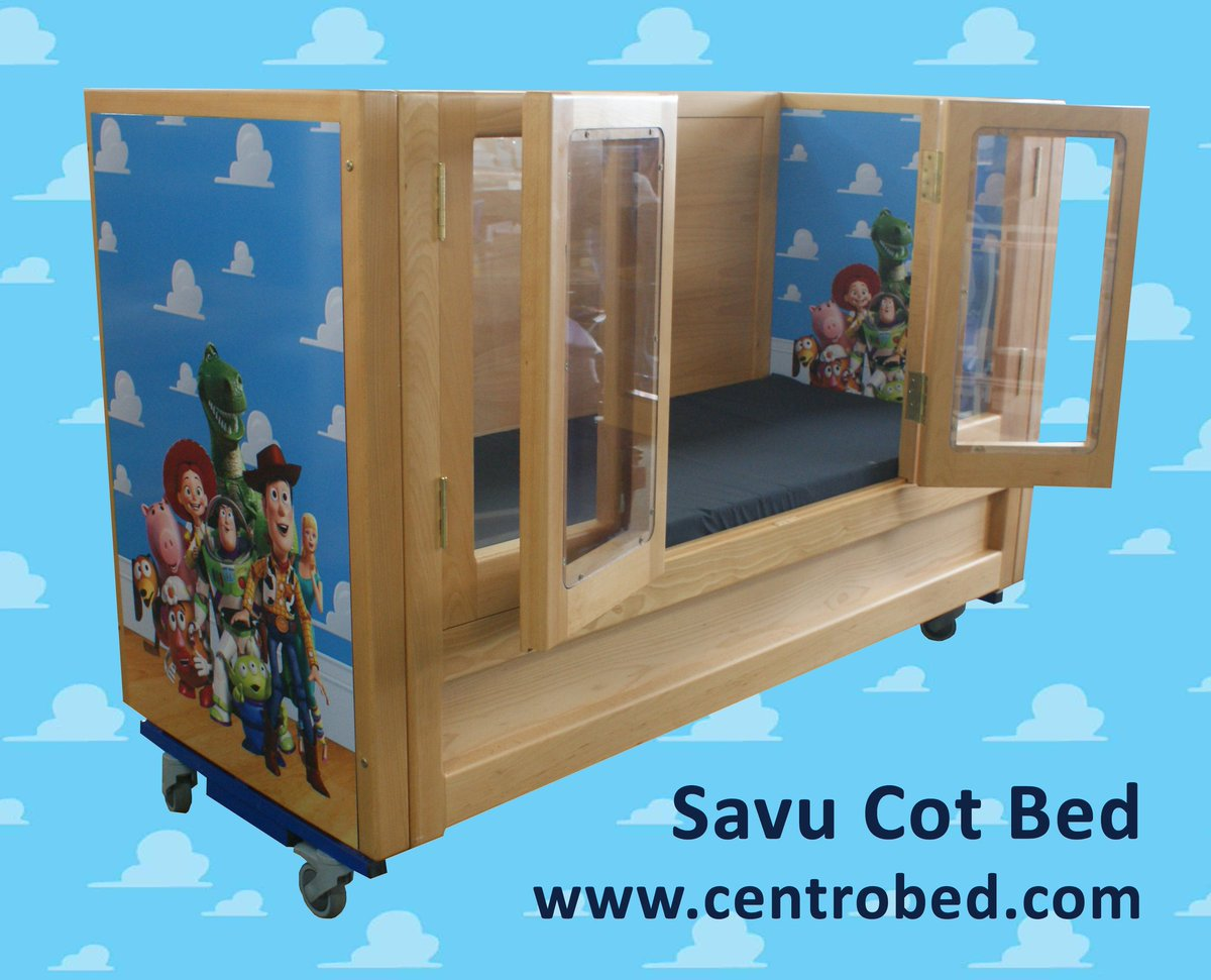Keeping #children, #visible, #safe and #accessible, the Savu #Cot has side panels that act as doors meaning #parents do not need to #stoop to reach their #child. #VideoCall #BedAssessment #Skype #WhatsApp #ToyStory #ToyStory25 #ThursdayThoughts #ThursdayMotivation #movie
