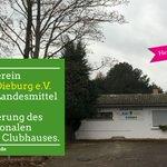 Image for the Tweet beginning: Beim Tennisverein Blau Gelb #Dieburg