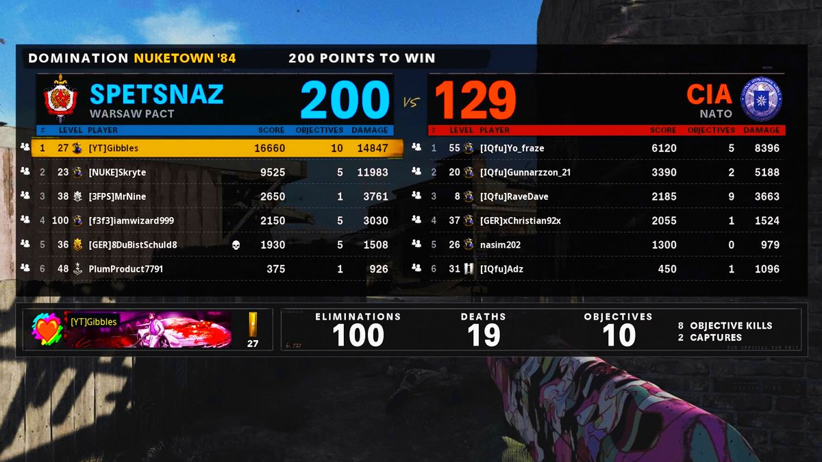 TheGibblesTribute - Ayy first game on today 100 Bomb 😬☢️💣 (non reverse boost lol)