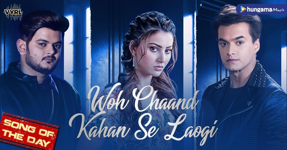 . @momo_mohsin & @UrvashiRautela create magic with their beautiful chemistry in @VishalMMishra 's voice and with @manojmuntashir's words in #WohChaandKahanSeLaogi 👉  @VYRLOriginals