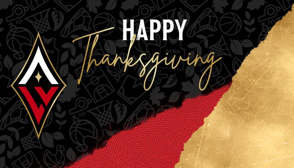 From the entire Aces organization, Happy Thanksgiving Aces fans!  We are so thankful for your love and support! ❤️🖤
