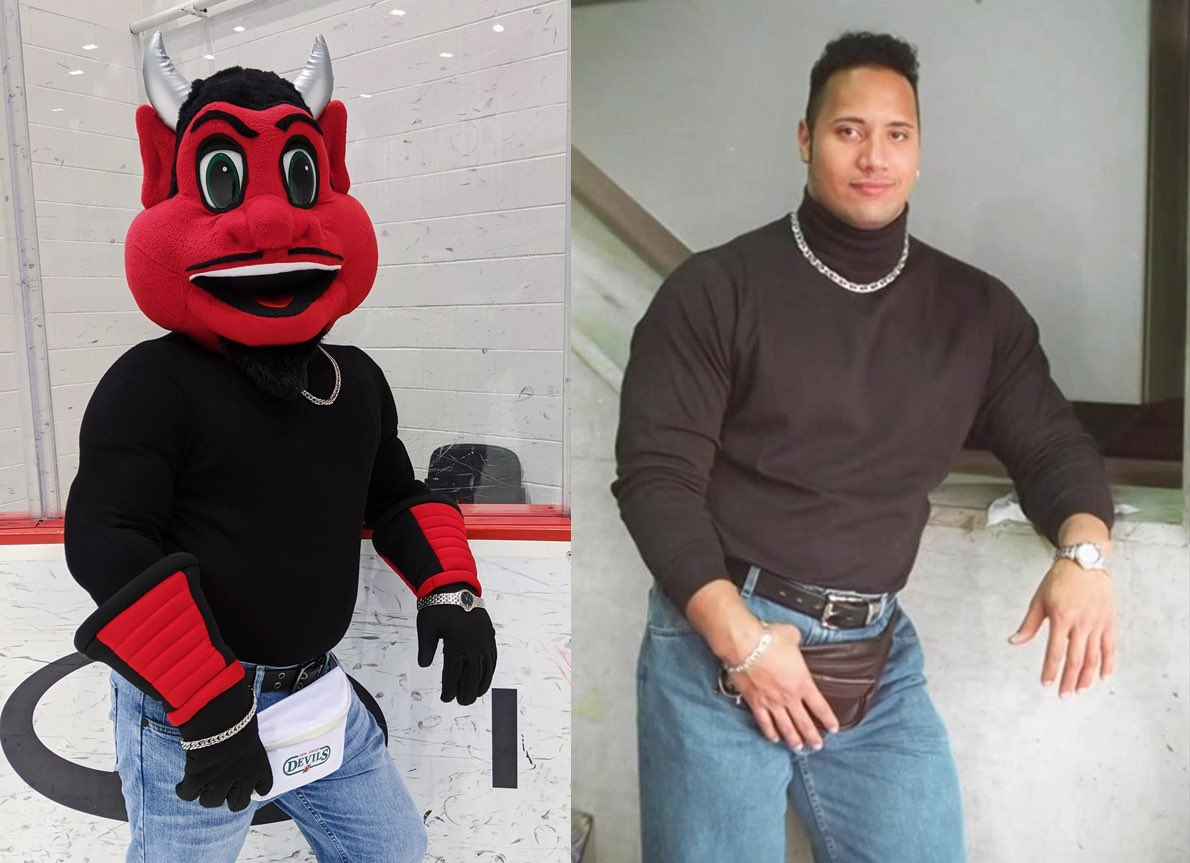 I still wore it better @TheRock