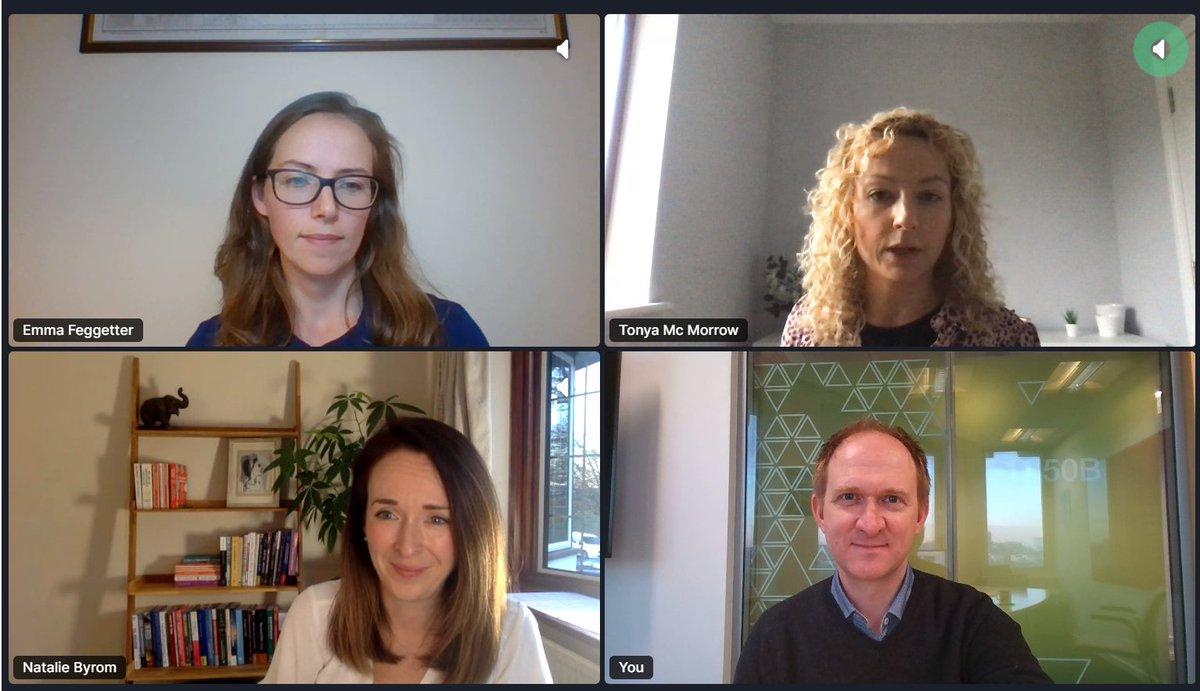 Fab @techUK digital justice panel today with @NatalieByrom, @BrenSwarbrick, Emma Feggetter and @tonyamcmorrow 🙌 https://t.co/D8YLDEQQmB