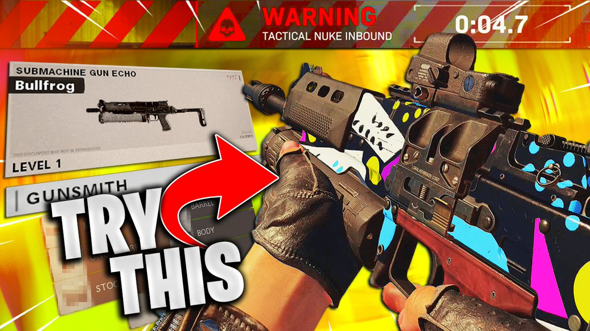 Buzro - 🚨 NEW VIDEO 🚨  After some testing I'm confident in saying the Bullfrog is a top contender for one of the better weapons in #ColdWar ESPECIALLY on #Nuketown84   Here is the absolute BEST loadout for you guys to use! Hope you all enjoy! 🐑♥️  📺: