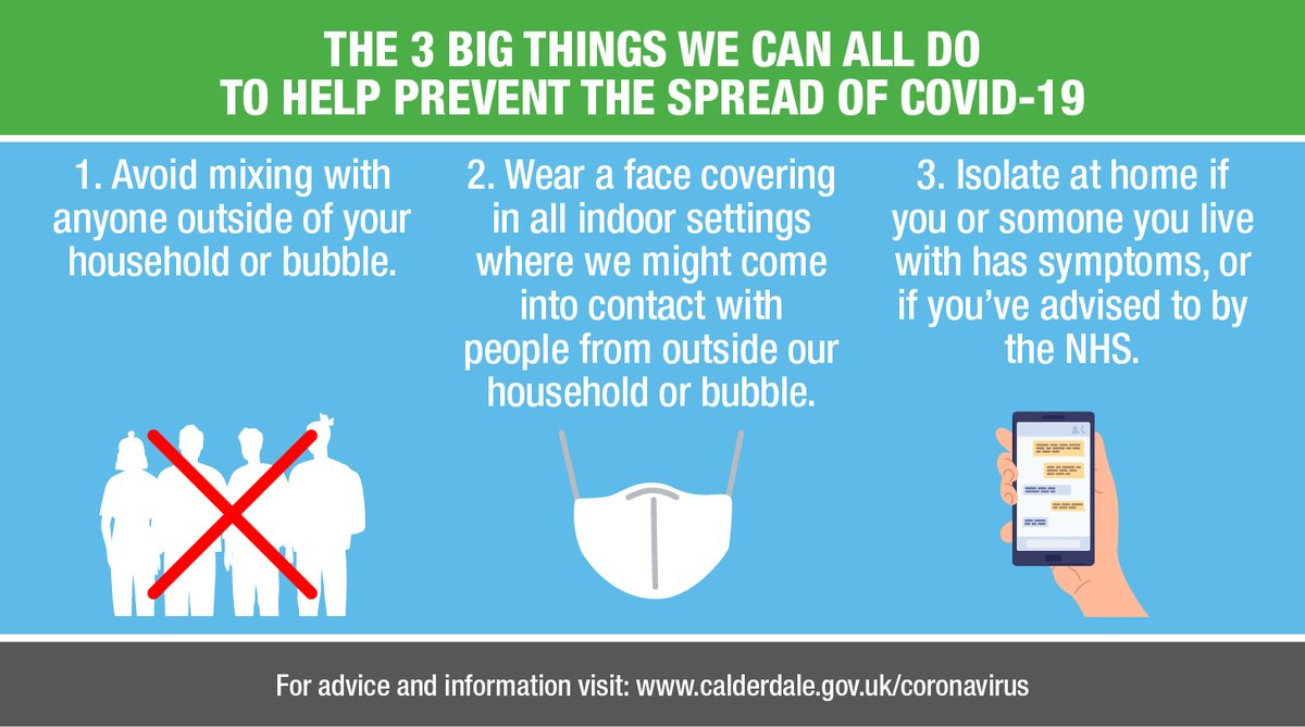 One of the big things that we can do to slow the spread of #COVID19 is to isolate if we have any of the symptoms, or if were told to by the NHS. Should you develop any COVID-19 symptoms, stay at home and book a test via 👇 💻crowd.in/GfwunI 📱NHS COVID App 📞Call 119