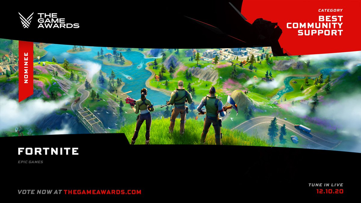 Fortnite On Twitter Thanks For Jumping Off The Battle Bus With Us Because Of You We Are Up For Three Nominations For Thegameawards This Year Best Community Support Best Ongoing Today we have fortnite memes from twitter, fortnite trashcan meme fortnite chest squid meme and fortnite's twitter got hacked. thanks for jumping off the battle bus