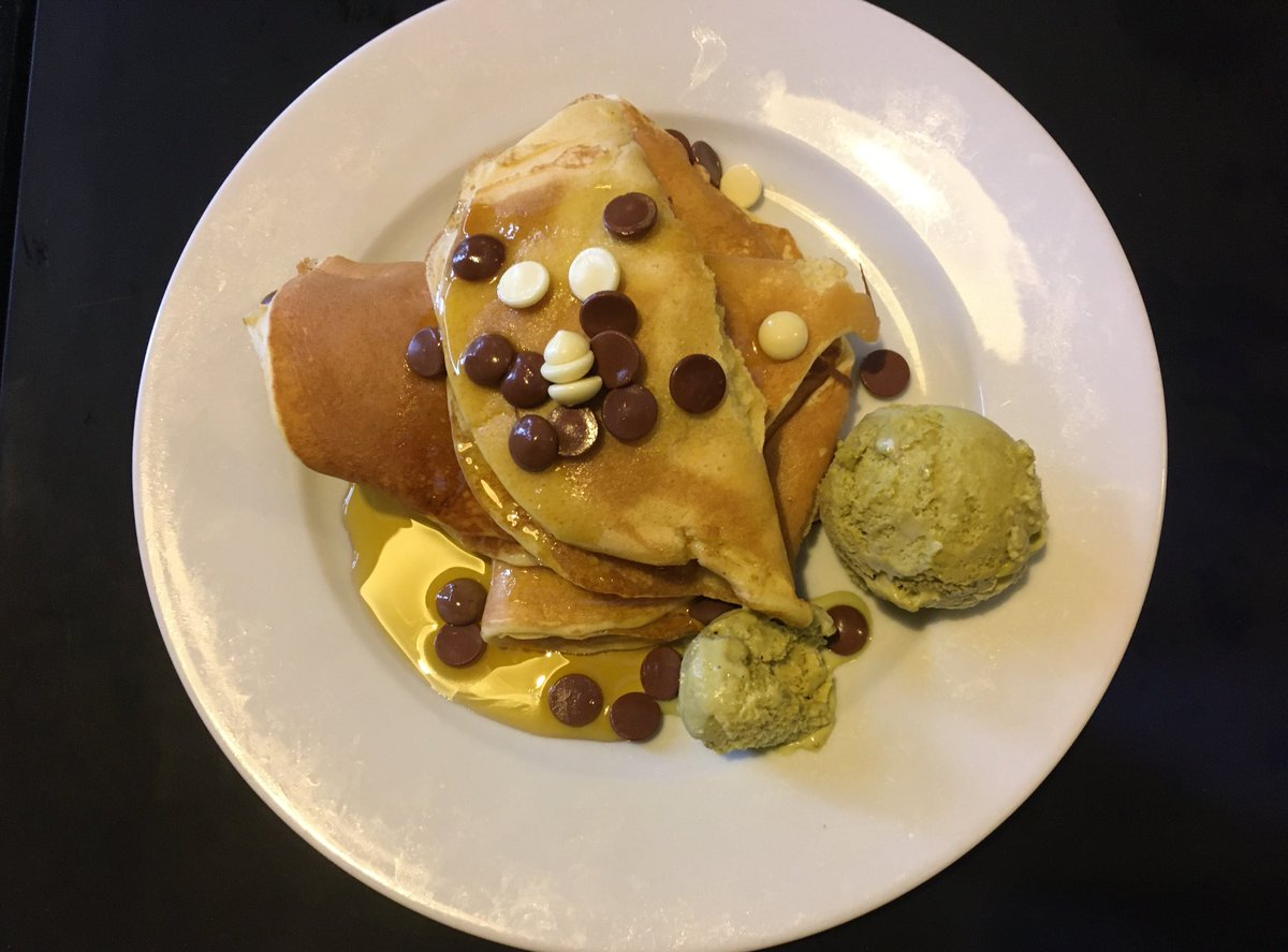 Bon appetit. #Pancakes #ThursdayThoughts