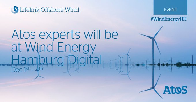 @Atos will present its large offer of #criticalcommunication solutions for offshore wind far...