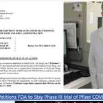 Image for the Tweet beginning: Pathologist Petitions FDA to Stay