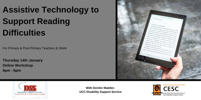 Assistive Technology for Reading Difficulties