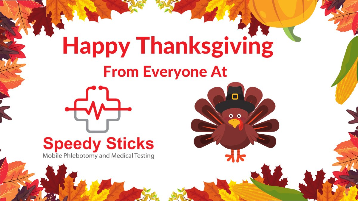 Happy Thanksgiving Day from everyone at Speedy Sticks. We hope you have a safe and healthy day. We are in this together. https://t.co/m8aBNcMUpk ... #thanksgivingday #thanksgiving #holidayseason #covid #covidtesting #socialdistance  #speedysticks #coronavirustesting #coronavirus https://t.co/g7Mq5Wwgbv