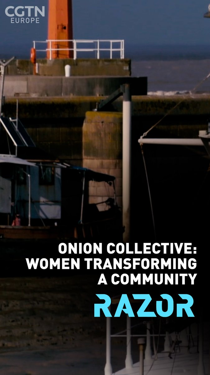 How one dying harbor town was rescued by a female-led social enterprise dedicated to social redevelopment rather than private gentrification 🏢  Discover #RAZOR Youtube Channel👇   @OnionCollective @biohmhome @CGTNOfficial @EmmaKeelingNZ