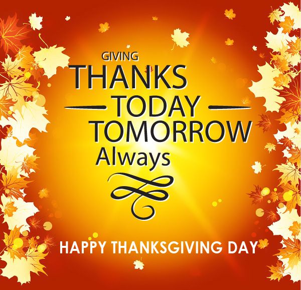 We remain thankful to so many people from our essential workers on the frontlines of the COVID-19 pandemic, to our teachers, to our public service employees, to our friends and family, to our delivery drivers to our volunteers and supporters! #alwaysthankful