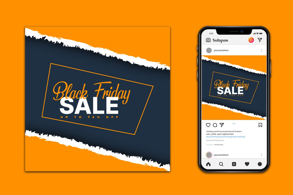 #BlackFridayInstagram #Post #Design #postdesign Is most important for promoting your business company. @Order Here @branding231   #Thankful #BlackFriday #BlackFriday2020 #MumbaiAttack #ModiAgainstFarmers #SCOTUS #logodesign #graphicdesign #socialmediadesign #Usa2020 #CyberMonday