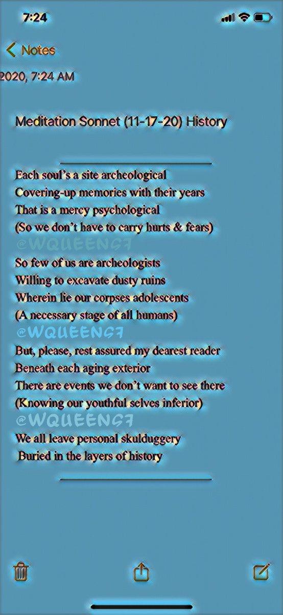 #meditation  #dawnsonnet #breatheinbreatheout #hopesonnet #memorysonnet #FaithSonnet #poem #nofaith #sonnet #MeditationSonnet #OptimismSonnet #judgementsonnet #humanity #gratitude  #grateful #truth #anonymity  #memories #optimism 11-26-20 https://t.co/azDBIdIUbb