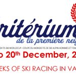Image for the Tweet beginning: First Val d'Isere World Cup