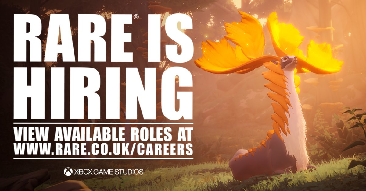 What do VFX Artist, Senior Marketing Artist, Senior Graphic Designer, Digital Engagement Executive and Community Developer have in common? They're all jobs listed on our Careers page, of course! Pop over and take a look if you fancy making games with us: