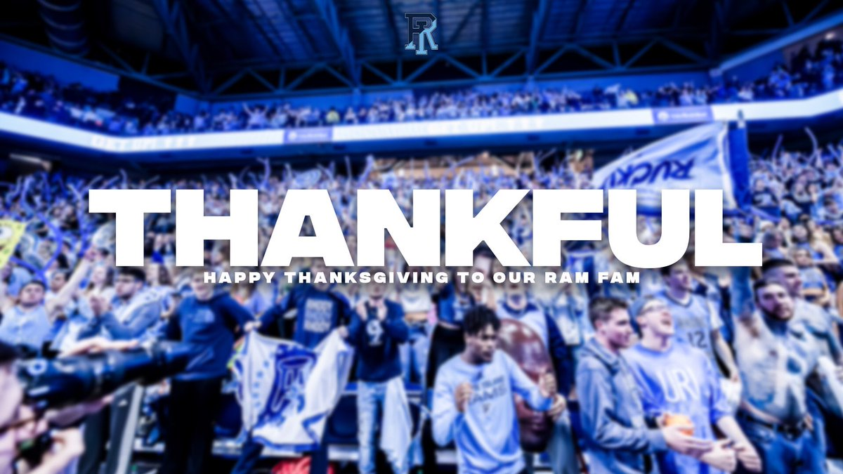 Today, we are especially thankful for our Ram Fam. Wishing you and yours a safe and Happy Thanksgiving ❤️ https://t.co/GUny6LAZHb
