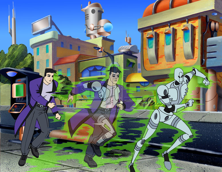 The future of the #DCAU gets even bigger with #TheZetaProject on SMF, part of 70 Years of #SaturdayMornings.