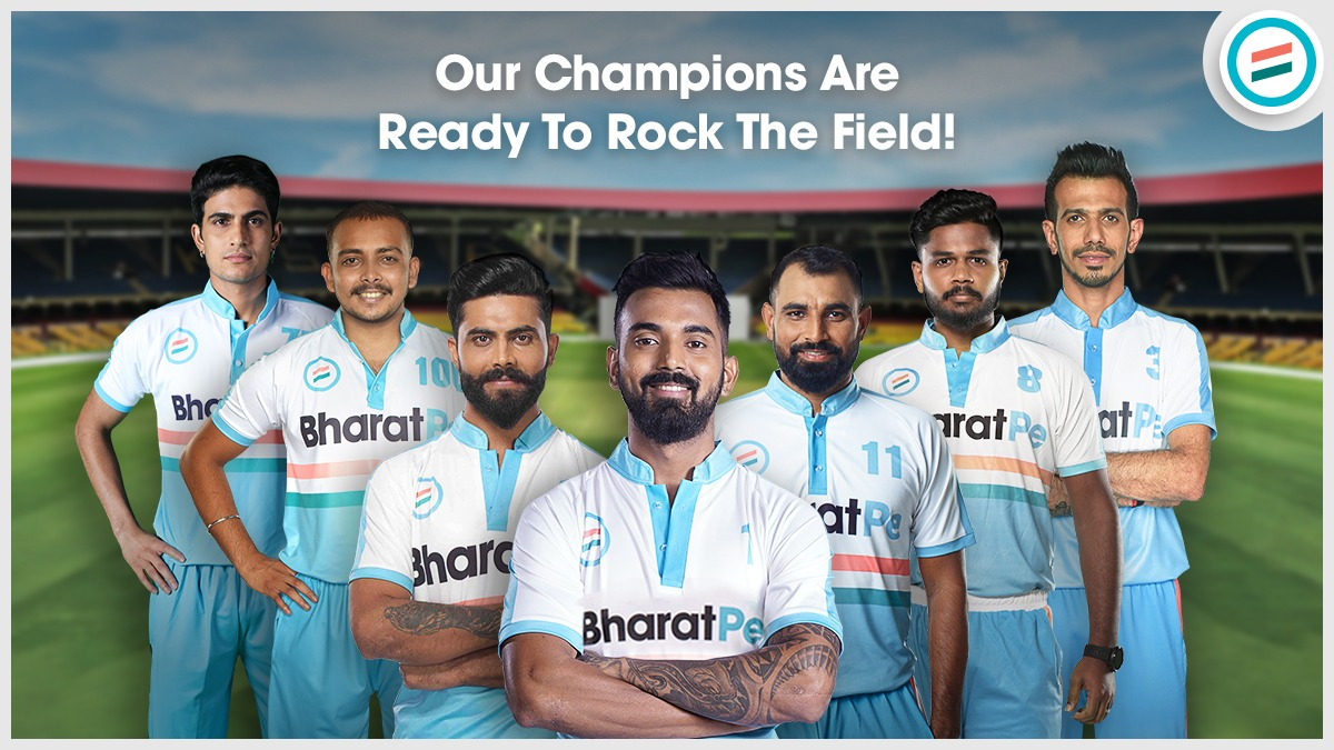 Ready To Kneel Them Down! In high spirits #TeamBharatPe  #CheerForTeamBharatPe #indianteam #cricketstars #cricketfansindia #CricketSeason #readyfornext #KLRahul #RavindraJadeja #mohammadshami #SanjuSamson #yuzvendrachahal #pritvishaw #shubmangill #meetthestar #RunBanaoRewardsPao