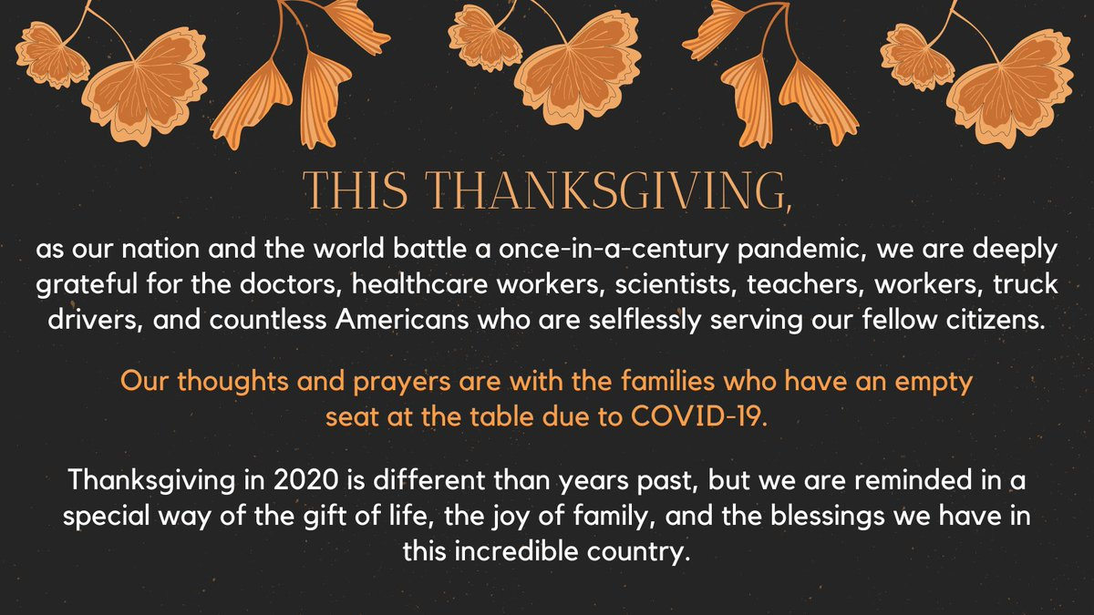 With love and gratitude, Happy Thanksgiving! https://t.co/TR4sVzoR23